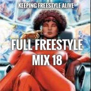 FULL FREESTYLE MIX 18 2015 - DJ Carlos C4 Ramos