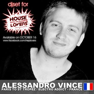 HEPLovers Podcast : Guest Mix #01 - Alessandro Vince