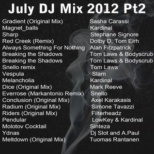Dave the Drummer July DJ mix Part2