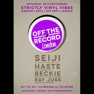 Seiji - Bugz in the Attic - Live @ Lockside Lounge 28.09.2013