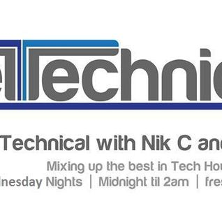 Get Technical EP#156 with Nik C on Fresh 92.7
