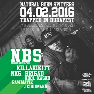 N.B.S. -Trapped In Budapest Promo Mixtape