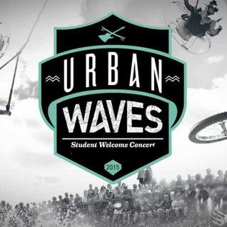 Live op 'Urban Waves' - 26 september 2015