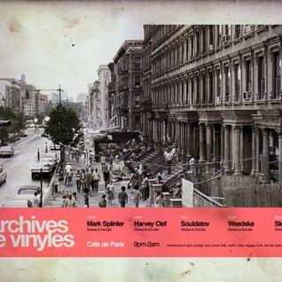 Archives de vinyles: Souldatov @ Cafe de Paris