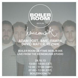 &ME Boiler Room Berlin 60 min DJ Set