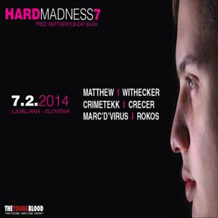 CrimeTekk - HARD MADNESS 7 Promo Mix