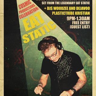 Warm up for Eat Static @ InSpiral Lounge Jan 2015