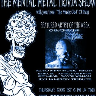 The Mental Metal Trivia Show 09/04/14: Mindslave! The Terry Dunn Interview
