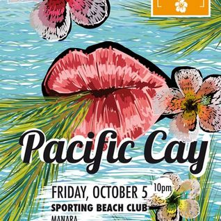 No 0ne - Opening DJ set for PC Party: Pacific Cay @ Sporting Club, Beirut 05/10/2012