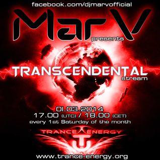 MarV - Transcendental Stream 002 [01.03.2014]