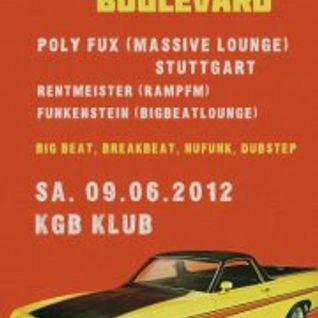 Breakbeat Boulevard @ KGB-Klub 06/12, Polyfux, Rentmeister & Funkenstein