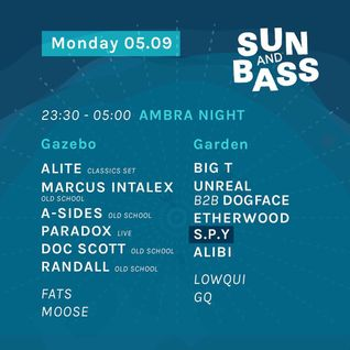 A Sides Live From Ambra Night - Sun & Bass 2016 (Old School Set)