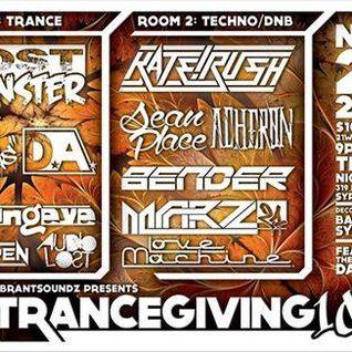 Sean Place - Live @ Trancegiving 10 11.14