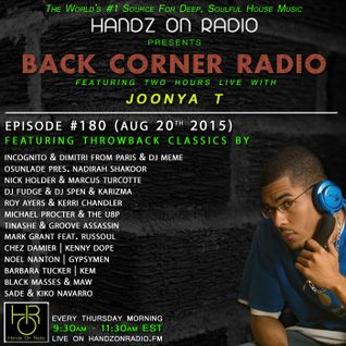 BACK CORNER RADIO: Episode #180 [#THROWBACK EDITION] (Aug 20th 2015)