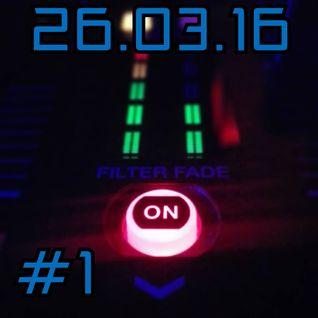 Xavier Mota - Live Record - 26.03.2016 (Nu Disco/ Funky House/ House/ Tech House)