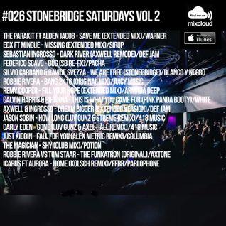 #026 StoneBridge Saturdays Vol 2