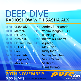 Max Amour - The 1st Anniversary Of Deep Dive pt.10 [20-Nov-2011] on Pure.FM