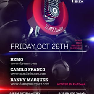 Space Ibiza Showcase on UMF Radio - (PART 2 - Camilo Franco) - October 2012