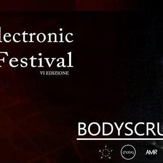 Amazone podcast 50_ Bodyscrub ( dj set @ Acuto Electronic Music festival )