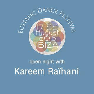 Kareem Raïhani Ecstatic Dance Festival Ibiza 2015