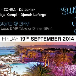 Djonah Laforge at summer of soks poolparty Destino Ibiza 2014