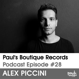 Paul's Boutique Records Podcast #28 Alex Piccini