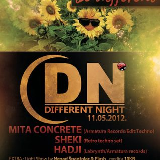 Live @ Different Night, Zagreb 11.05.12