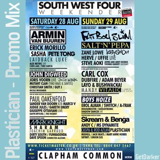 Plastician - SW4 Festival & GetDarker Promo Mix - 2010