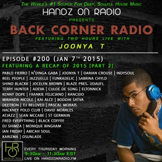 BACK CORNER RADIO: Episode #200 (Jan 7th 2016) [2015 Recap Part 2]