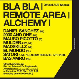 2000 and One Live @ Bla Bla,Remote Area Alchemy (ADE) (22.10.11)