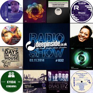 DEEPINSIDE RADIO SHOW 032 (Jocelyn Brown Artist of the week)