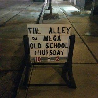 DJ Mega Throwback Thrusday - Live at Center St Alley -  07-21-2016