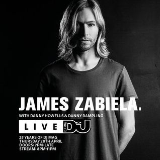 James Zabiela, Danny Howells & Danny Rampling - Live at DJ MAG 25 Years, Work Bar (28-04-2016)