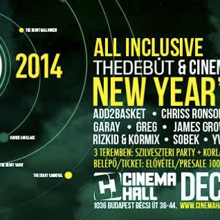 Ramone Live Mix NYE party Debut Cinema hall 2014.01.01.