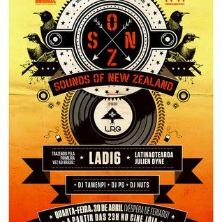 S.O.N.Z. - Sounds Of New Zealand - Preview w/ Ladi6, Latinaotearoa, Julien Dyne (Mix by DJ Tamenpi)