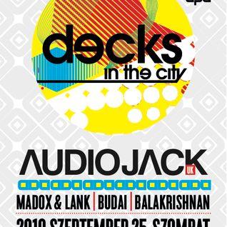 Audiojack mix for Budapest - 2010. September