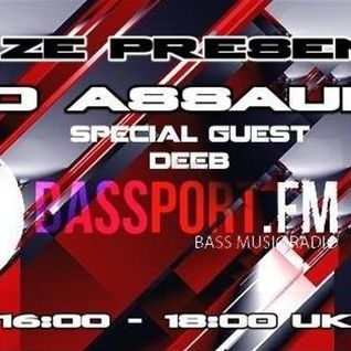 DJ Quantize Presents: Audio Assault on @BassPortFM with Special Guest dEEb