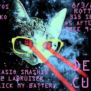 DJ Kasio Smashio - Deep Cuts 8-3-2012 pt. 1