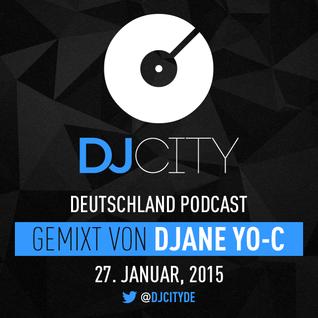 DJane Yo-C - DJcity DE Podcast - 27/01/15