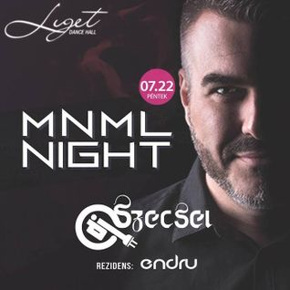 2016.07.22. - MNML Night, Liget Dance Hall, Eger - Friday