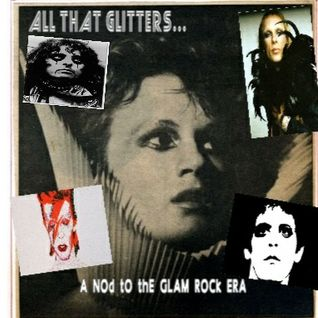 ALL THAT GLITTERS... a nod to the glam rock era