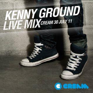 Kenny Ground Live @ Cream, Vanilla Club