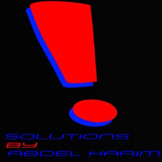 Solutions By Abdel Karim
