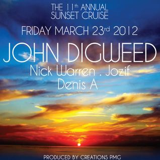 John Digweed - 11th Annual Sunset Cruise, Miami