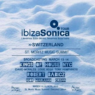 Kings of House (David Morales, Loiue Vega & Tony Humphries) - Live At ST. Moritz Music Summit 2015