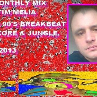 The Monthly Mix With Tim Melia - Early 90's Breakbeat Hardcore & Jungle - June 2013