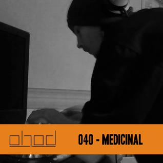 #040 - Medicinal - DnB