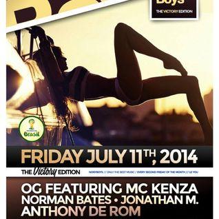 Dizzy Jee warmup at Noisy Boys Fri 11-Jul-2014 2330 - 0100