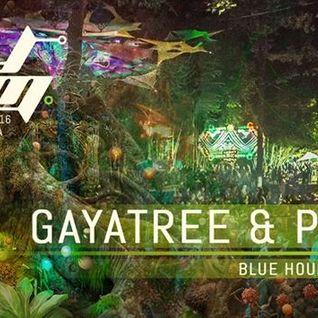 GayaTree B2B with Psymbiosis @ MoDem FestivL 2016 Alternative Stage