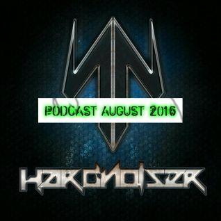 DJ Hardnoiser - [44] Podcast August 2016